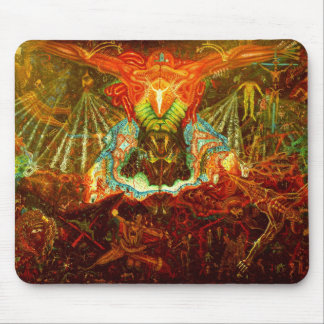 Satan inspiring the world mouse pad