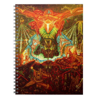 Satan inspiring the world notebooks