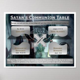 Satan s Communion Table Print