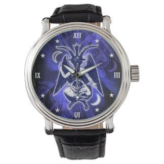 Satanic Baphomet Goat Watch