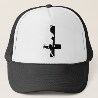 Satanic Cross Trucker Hat