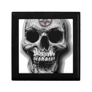 Satanic Evil Skull Design Gift Box