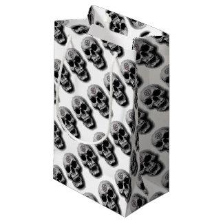 Satanic Evil Skull Design Small Gift Bag