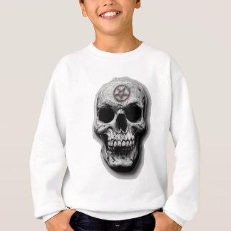 Satanic Evil Skull Design Sweatshirt