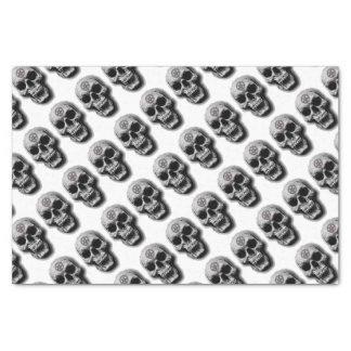 Satanic Evil Skull Design Tissue Paper