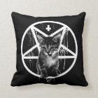 Satanic Kitten Pillow