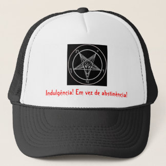 satanic pentagrama, Indulgence! Instead of abs… Trucker Hat