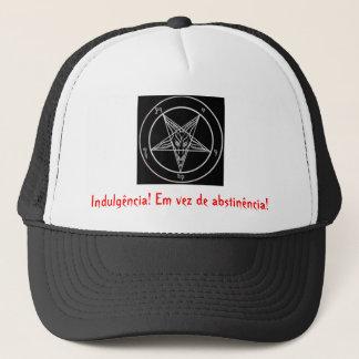 satanic pentagrama, Indulgence! Instead of abs… Trucker Hat