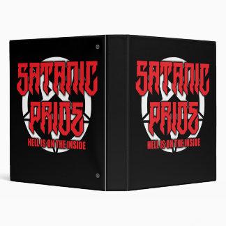 """Satanic Pride 3-Ring Binder - 1"""""""