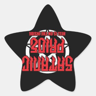 Satanic Pride Inverted Pentagram Sticker