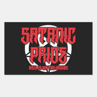 Satanic Pride Matte Stickers