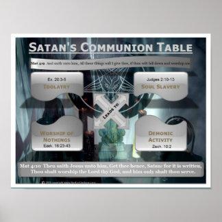 Satan's Communion Table Poster