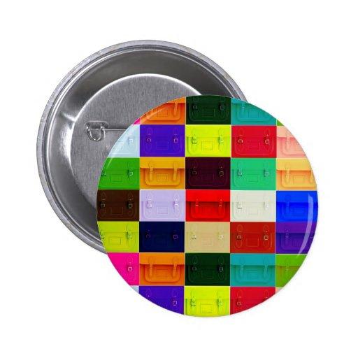 Satchel collage pin