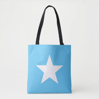 Satchel Star Light Blue Tote farrowed