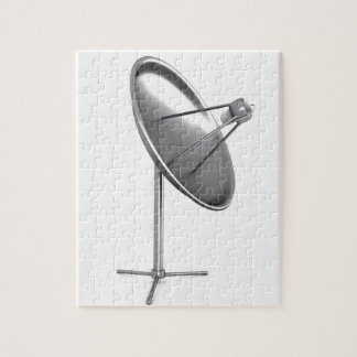 Satelite dish jigsaw puzzle