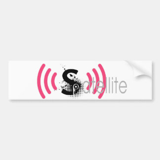 Satellite bunper sticker bumper sticker