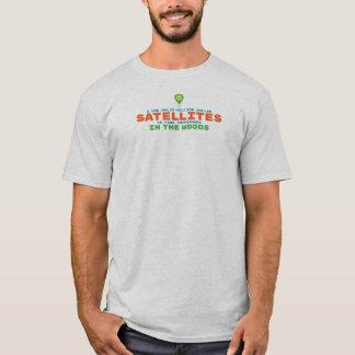Satellite Humor Geocaching T-Shirt