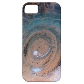 Satellite Image (Eye Of The Sahara) iPhone 5 Cases
