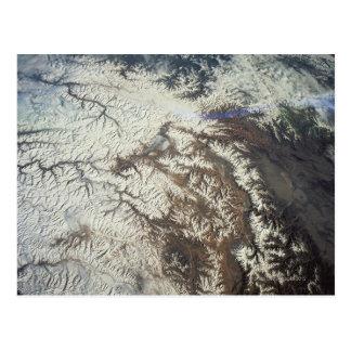 Satellite Image Postcard