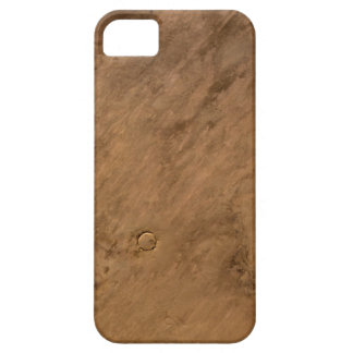 Satellite Image (Tenoumer crater) iPhone 5 Cases