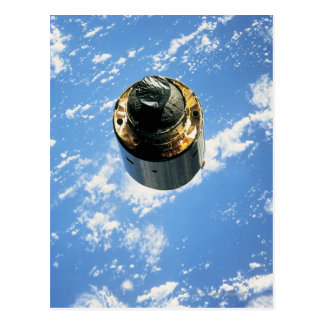 Satellite in Orbit 4 Postcard