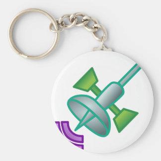 Satellite Keychain