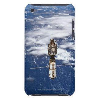 Satellite Orbiting Earth 4 Barely There iPod Cases