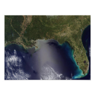 Satellite view of the Southeastern United State Photo Print