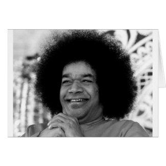 Sathya Sai Baba greeting card