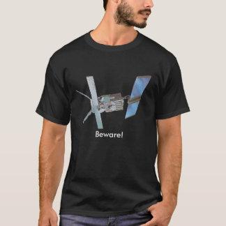 satillite, Beware! T-Shirt