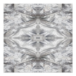 Satin and Lace Abstract. Perfect Poster