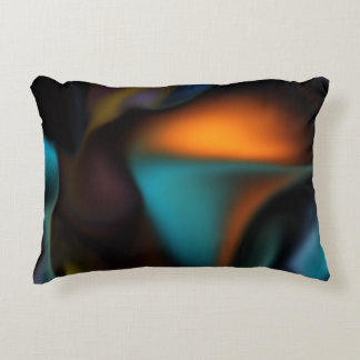 Satin Glow high end abstract Decorative Pillow