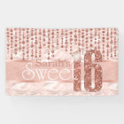 Satin Jewel Sweet Sixteen Rose Gold ID260 Banner