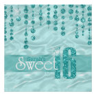 Satin Jewel Sweet Sixteen Teal ID260 Poster