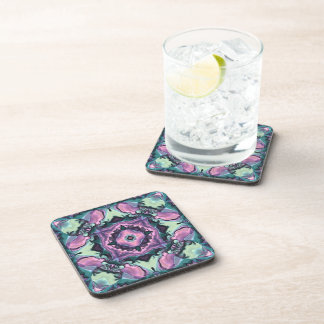 Satin Quilt Drink Coasters