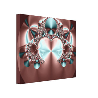Satin Sheets Wrapped Canvas