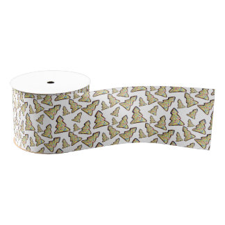Satinband with Christmas pastry Grosgrain Ribbon