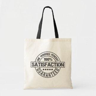 SATISFACTION GUARANTEED bag, choose style, color