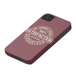 SATISFACTION GUARANTEED custom Blackberry case