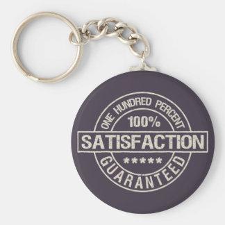 SATISFACTION GUARANTEED key chain
