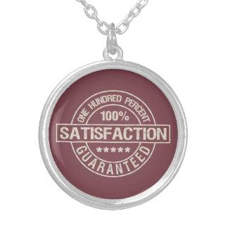 SATISFACTION GUARANTEED necklace