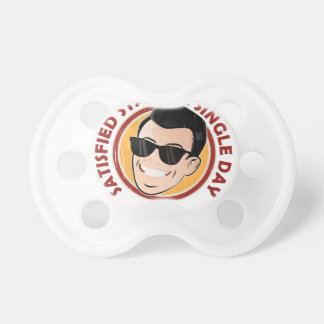 Satisfied Staying Single Day - Appreciation Day Pacifier