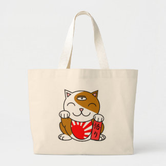 Satori Neko Large Tote Bag