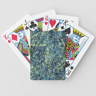 SATURATION (an abstract art design) ~ Bicycle Poker Cards