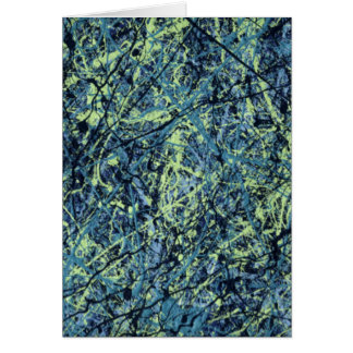 SATURATION (an abstract art design) ~ Greeting Card