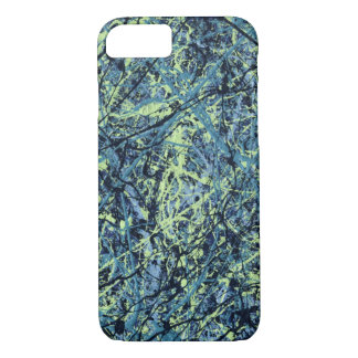 SATURATION (an abstract art design) ~ iPhone 7 Case