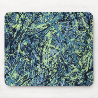 SATURATION (an abstract art design) ~ Mouse Pad