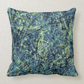 SATURATION (an abstract art design) ~ Throw Pillow