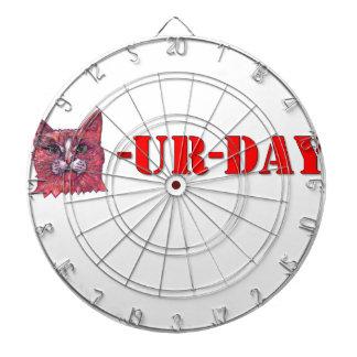 Saturday is Caturday Dartboard