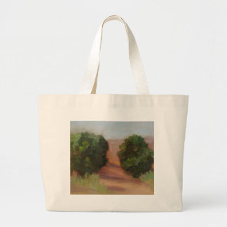 """""""Saturday Morning Hike"""" Large Tote Bag"""